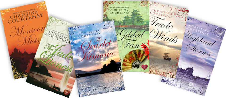 Historical Romance Novels: Christina has written two historical romance trilogies.  Read about the books she has written in this category.